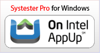 Get Systester Pro for Windows on Intel App Up